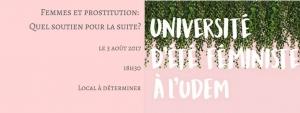 Université d'été féministe